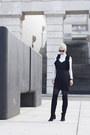 H-m-shoes-h-m-dress-ray-ban-sunglasses