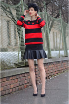 Rockwithu sweater - AHAISHOPPING skirt