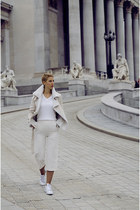 Sheinside jacket - adidas stan smith shoes - Primark sweater