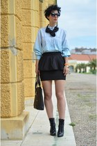 Zara skirt - asos boots - wwwvj-stylecom bag