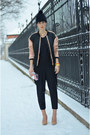 Maison-martin-margiela-for-h-m-shoes-frontrowshop-hat-zara-jacket