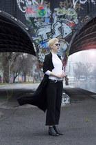 asos belt - Primark coat - Zara jeans