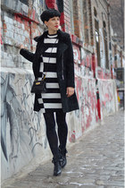 Zara shoes - H&M Trend dress - Sheinside coat