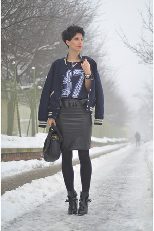 Zara shoes - nowIStyle bag - H&M Trend skirt