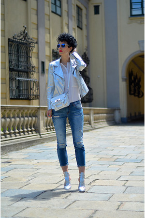 Zara jeans - Bershka shoes - Zara jacket