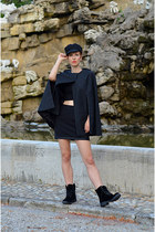 H&M boots - H&M Trend cape