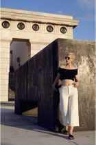 Zara shoes - H&M jeans