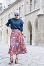 Lightinthebox-blouse-h-m-skirt