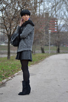 Isabel Marant boots - wwwchoiescom coat - wwwchoiescom blouse