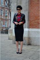 AHAISHOPPING blouse - Primark shoes - Choies jacket - zeroUV sunglasses