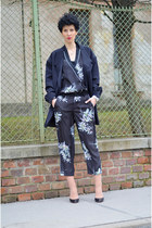 Zara blouse - Maison Martin Margiela for H&M blazer - Zara pants