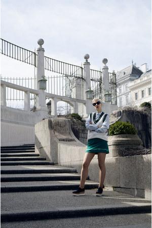 H&M Studio shirt - H&M Studio skirt