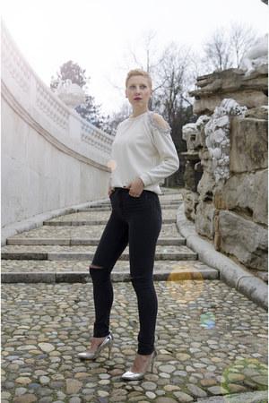 Allbuy sweatshirt - Bershka shoes - H&M jeans