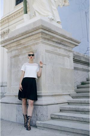 shein blouse - shein skirt