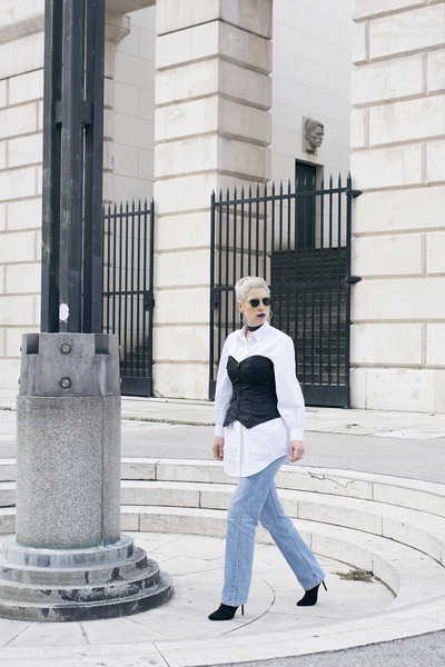 H&M shoes - Levis jeans