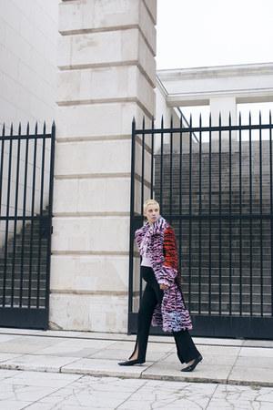 H&M Trend sweater - Kenzo x H&M coat - Bershka pants