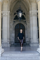 H&M Studio skirt - H&M Trend blouse