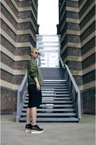 H&M shoes - romwe jacket - Primark pants