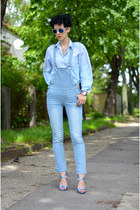 H&M shoes - OASAP jeans - zeroUV sunglasses