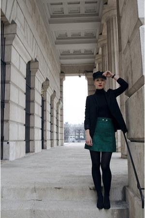 H&M Trend skirt - H&M shoes - Zara blazer