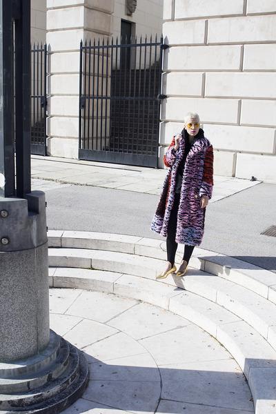 Kenzo x H&M coat - H&M shoes - Zara pants