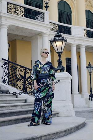 H&M Trend dress - Mango bag