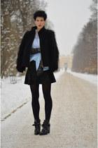 Zara boots - Zara jacket - Zara skirt