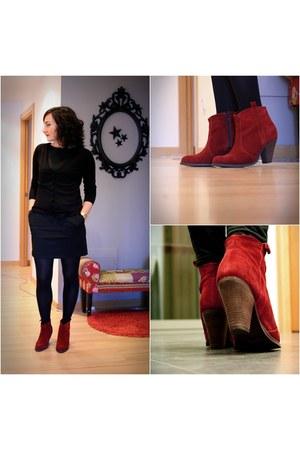 asos boots - Zara dress