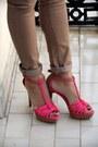 Hot-pink-zara-sandals