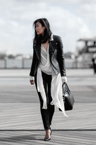 Picnic Clothing jeans - Zaliah jacket - One Fell Swoop shirt - Givenchy bag