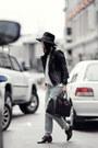 Black-leather-zaliah-jacket-light-blue-j-brand-jeans-white-cos-stores-shirt