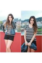 Shana jacket - pull&bear shorts