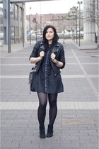 black Primark boots