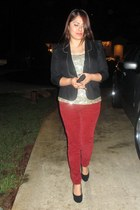 Steve Madden pumps - Urban Outfitters jeans - Dorothy Perkins jacket