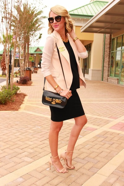 black cat-eye Prada sunglasses - neutral Chicwish blazer