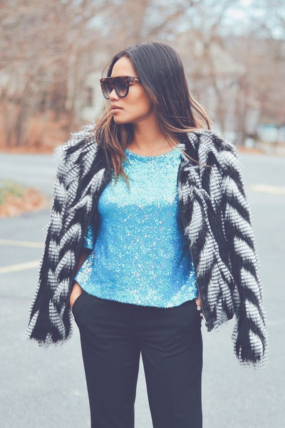 sequin Nordstrom Rack blouse
