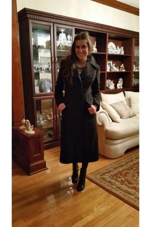 black wool blazer Sisley blazer