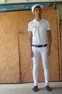 White-local-navy-exchange-hat-white-gap-shirt-black-coach-belt-white-forev