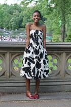 off white H&M dress