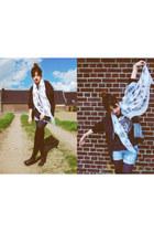 silk chiffon Alexander McQueen scarf