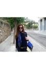 Zara-jeans-zara-sweater-hermes-scarf-hermes-belt-toms-flats