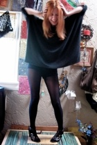 Wetseal shirt - shorts - H&M tights - Nine West shoes