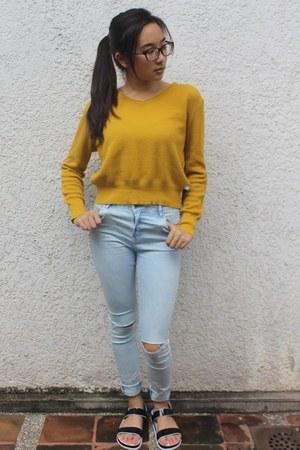 Bershka jeans - Bayo sweater