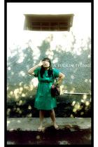 moonbeam dress - Anna Sui shoes - papilon accessories