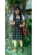 from Bali t-shirt - hopipola dress - Dr Martens boots