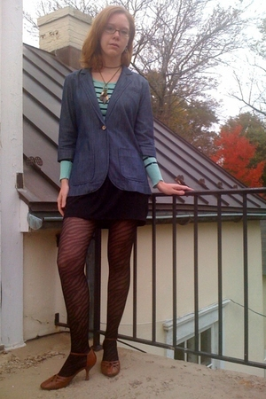 Urban Outfitters jacket - H&M shirt - payless necklace - Target skirt - payless