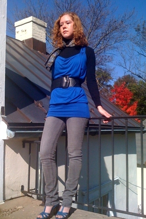 Revulution shirt - Revolution belt - Target jeans - payless shoes - H&M sweater