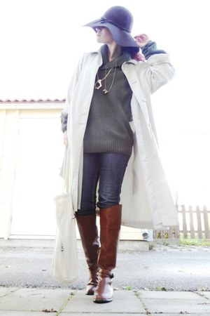 leather H&M boots