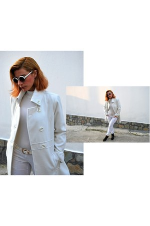 Migato boots - Bellino coat - asos sunglasses - asos belt