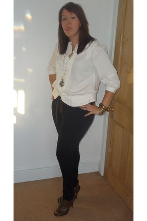 Dorothy Perkins blouse - Primark jeans - Dorothy Perkins accessories - vintage s